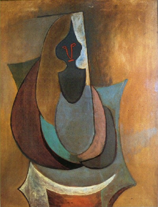 1917 Personnage. Pablo Picasso (1881-1973) Period of creation: 1908-1918