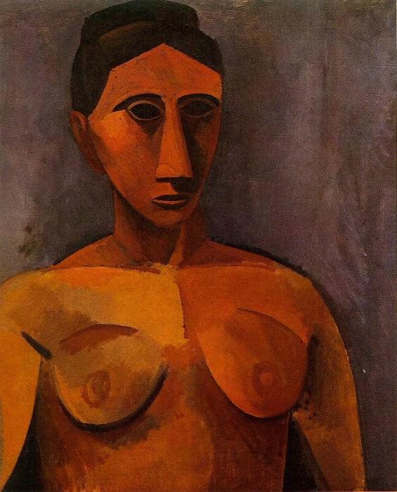 1908 Buste de femme2. Pablo Picasso (1881-1973) Period of creation: 1908-1918