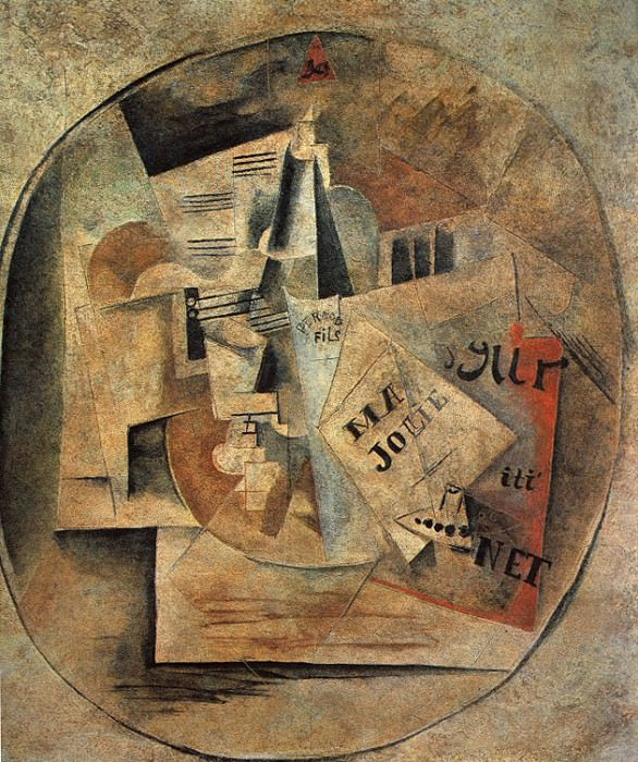1912 Ma Jolie Mural. Pablo Picasso (1881-1973) Period of creation: 1908-1918