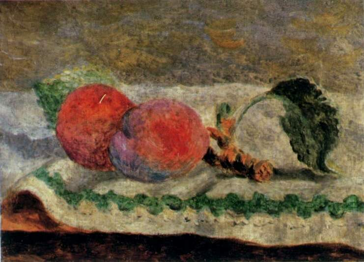 1918 Deux pИches. Pablo Picasso (1881-1973) Period of creation: 1908-1918