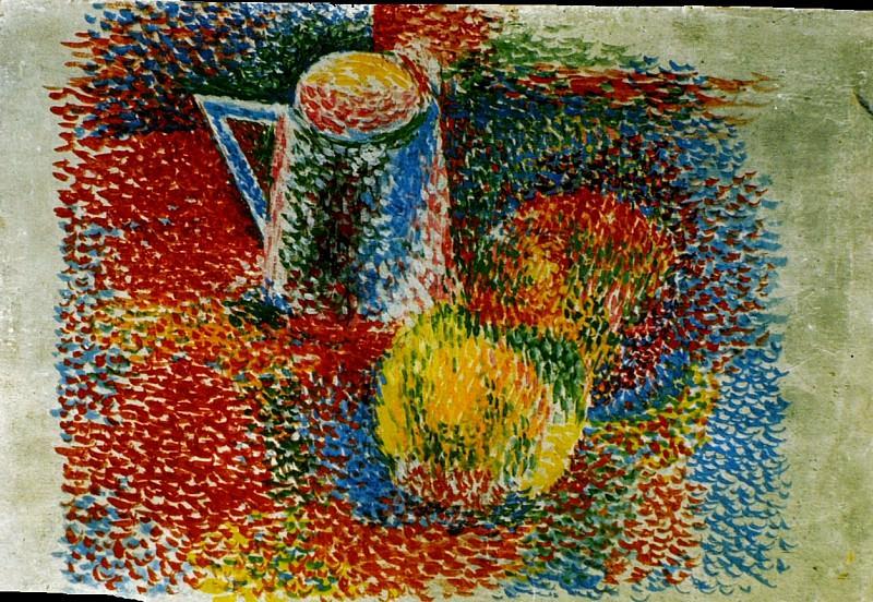1917 Nature morte. Pablo Picasso (1881-1973) Period of creation: 1908-1918