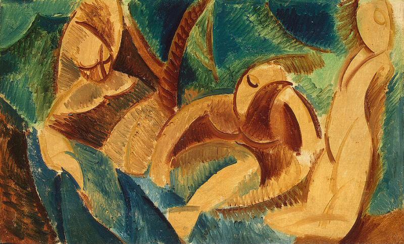 1908 Baignade. Пабло Пикассо (1881-1973) Период: 1908-1918