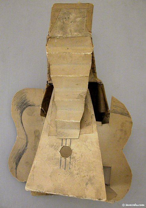 1912 Guitare. Pablo Picasso (1881-1973) Period of creation: 1908-1918