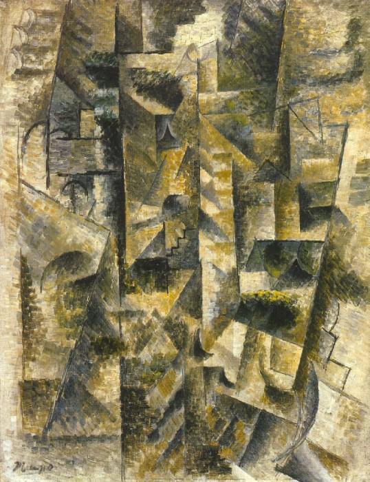 1911 Paysage de CВret. Pablo Picasso (1881-1973) Period of creation: 1908-1918