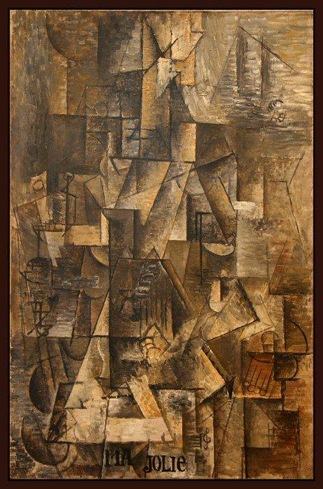 1911 Ma Jolie - Marcelle Humbert-eva. Пабло Пикассо (1881-1973) Период: 1908-1918