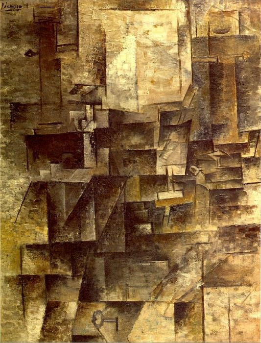 1910 La table de toilette. Pablo Picasso (1881-1973) Period of creation: 1908-1918