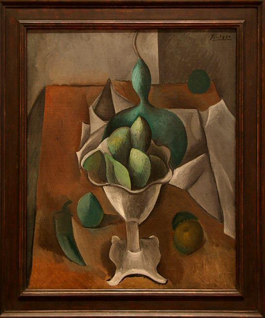 1908 Plateau de fruits. Pablo Picasso (1881-1973) Period of creation: 1908-1918