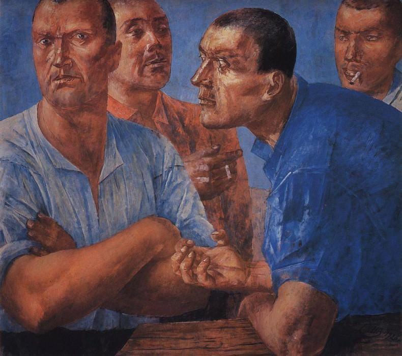 Work. 1926. Kuzma Sergeevich Petrov-Vodkin