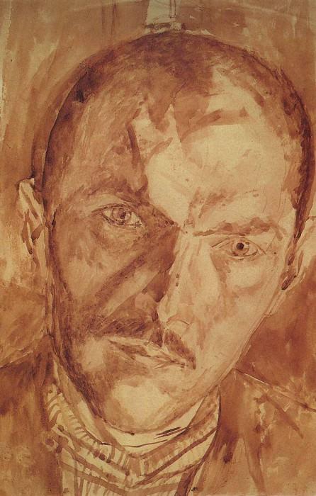 Self 2. 1921. Kuzma Sergeevich Petrov-Vodkin