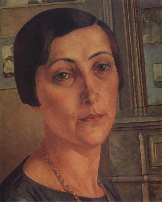 Portrait SN Andronikova. 1925. Kuzma Sergeevich Petrov-Vodkin