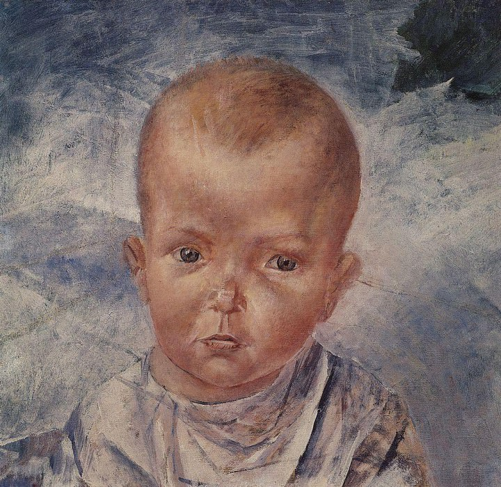 Daughter of the artist. 1923. Kuzma Sergeevich Petrov-Vodkin