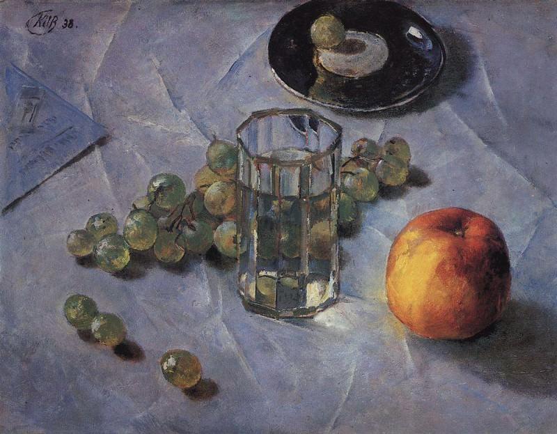 Grapes. 1938. Kuzma Sergeevich Petrov-Vodkin