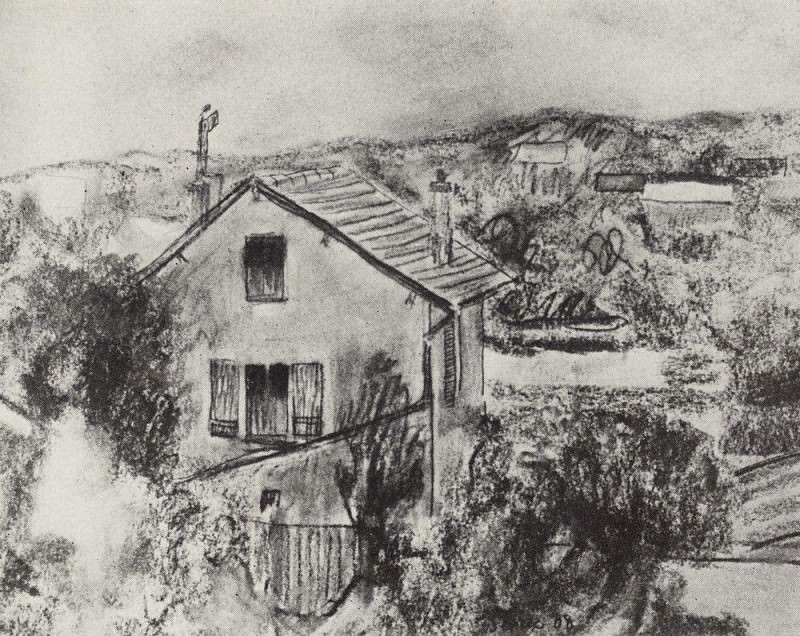 Sevres. 1908. Kuzma Sergeevich Petrov-Vodkin