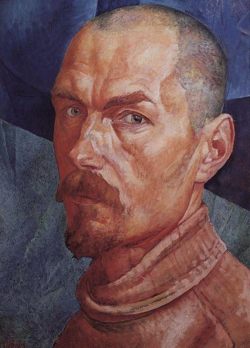 Self 2. 1926-1927. Kuzma Sergeevich Petrov-Vodkin