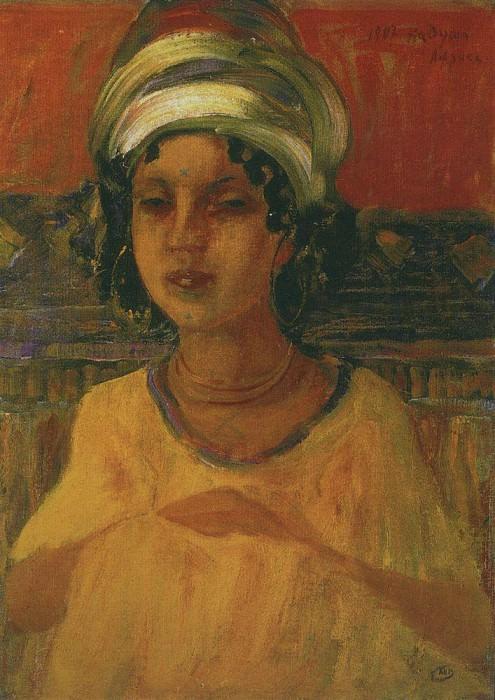 Кадуша. Африка. 1907. Петров-Водкин Кузьма Сергеевич