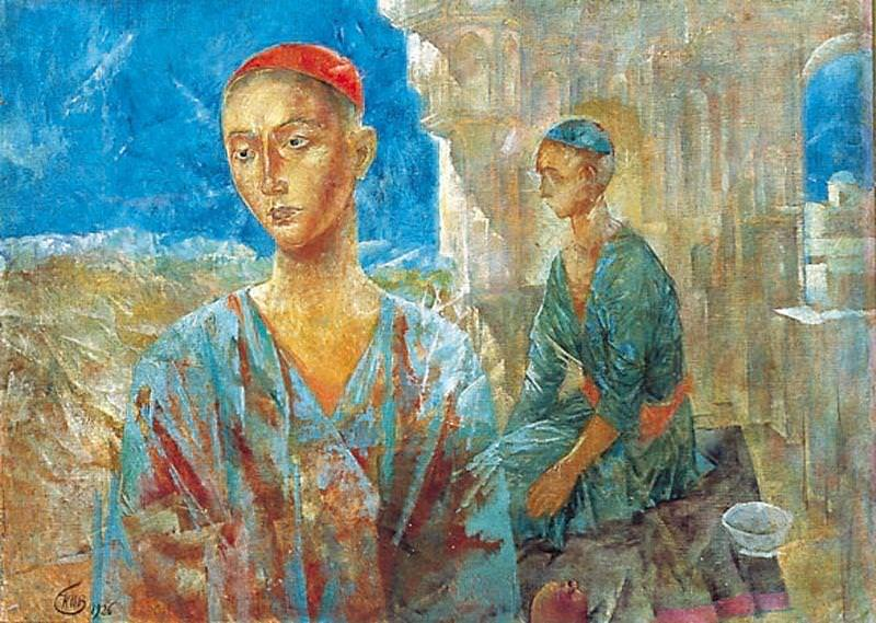 Samarkand. 1926. Kuzma Sergeevich Petrov-Vodkin