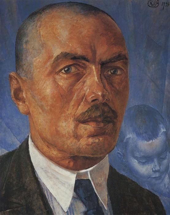 Self 1. 1926-1927. Kuzma Sergeevich Petrov-Vodkin
