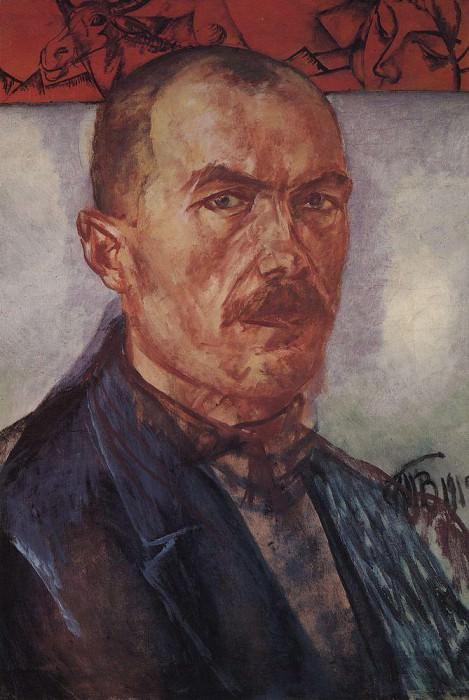 Автопортрет. 1912. Петров-Водкин Кузьма Сергеевич