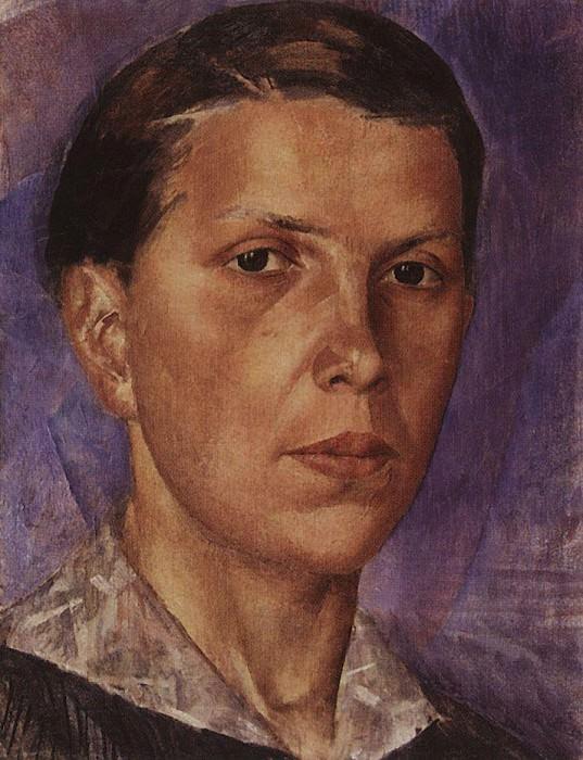 Portrait NL. 1922. Kuzma Sergeevich Petrov-Vodkin