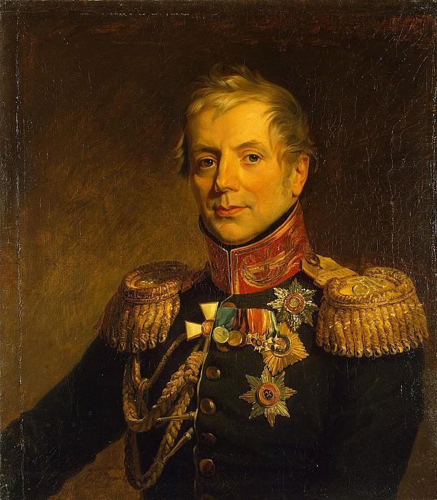Dawe George - Portrait of Pyotr Petrovich Konovnitsyn. Hermitage ~ part 04