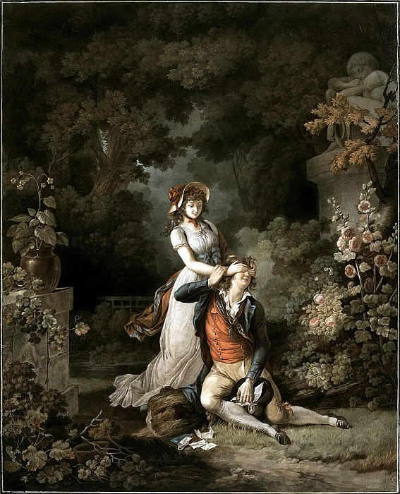 Dekurti, Charles-Melchior - Caught unawares lover. Hermitage ~ part 04