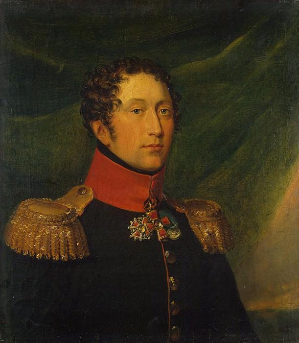 Dawe George - Portrait of Alexei Semenovich Kologrivov. Hermitage ~ part 04