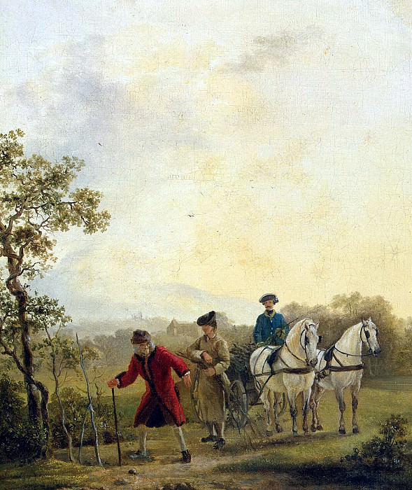 Hubert, Jean - Voltaire, plant trees. Hermitage ~ part 04