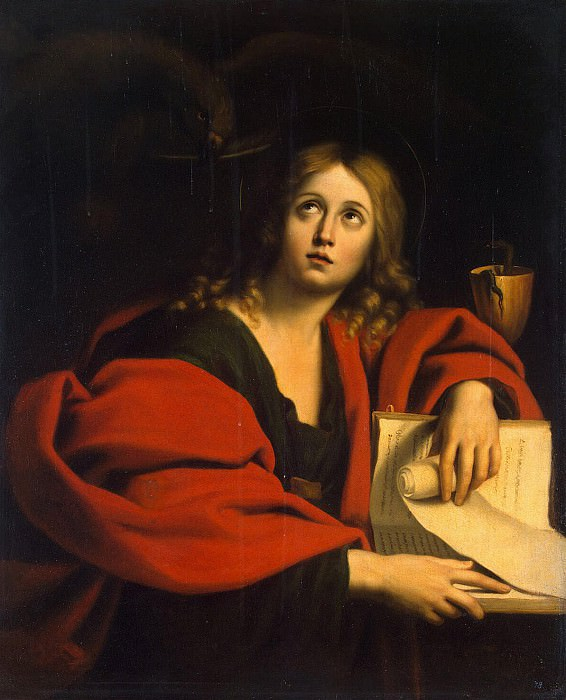 Domenichino - St John the Evangelist. Hermitage ~ part 04