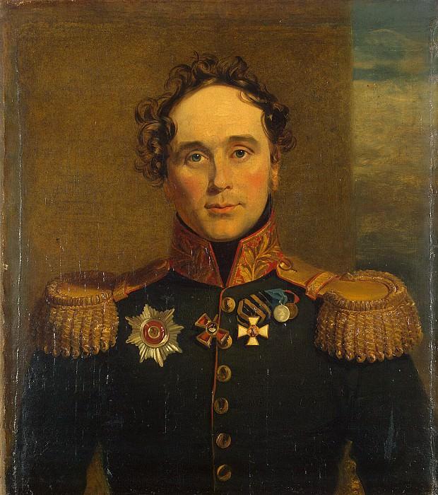 Dawe George - Portrait of Fyodor Vasilyevich Driesen. Hermitage ~ part 04