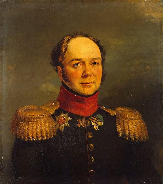 Dawe George - Portrait of Pavel N. Ushakov. Hermitage ~ part 04