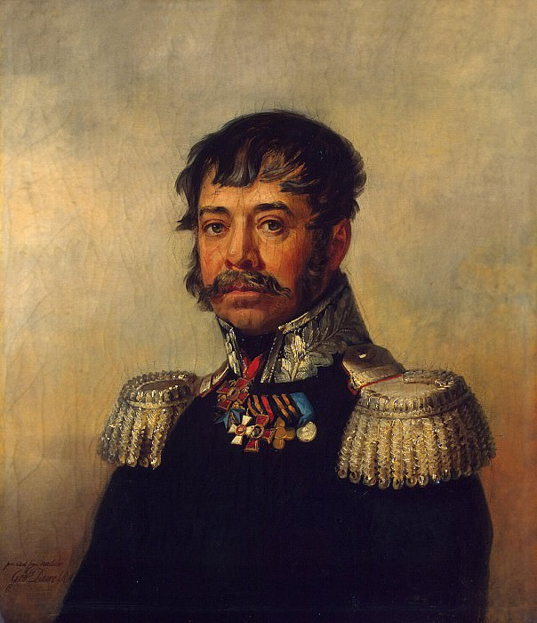 Dawe George - Portrait of Osip Vasilyevich Ilovaisky. Hermitage ~ part 04