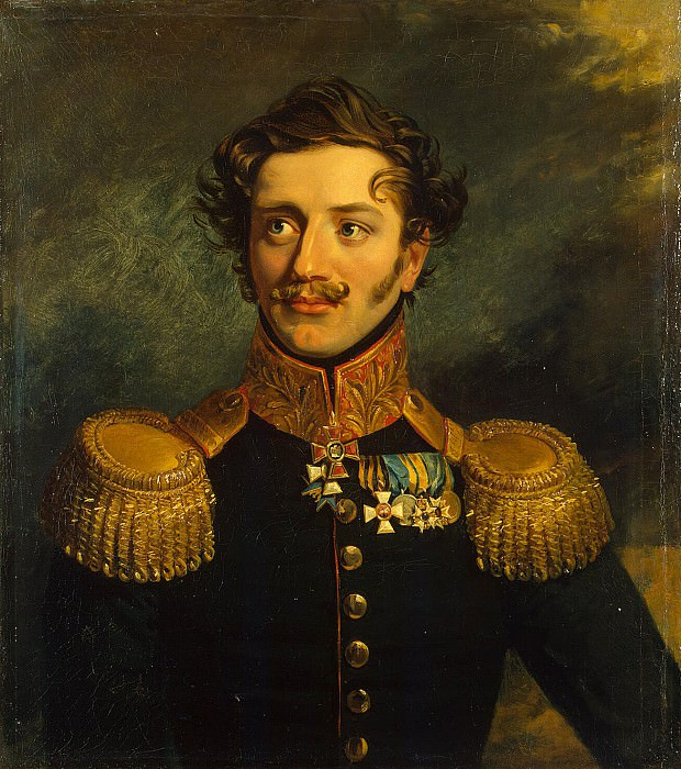 Dawe George - Portrait of Pavel Petrovich Suhtelena. Hermitage ~ part 04