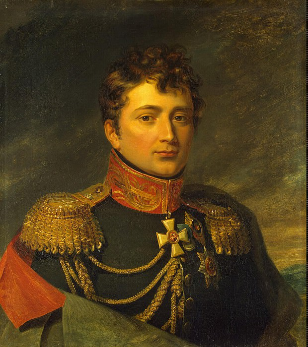Dawe George - Portrait of Emanuel Frantsevich Saint-Prix. Hermitage ~ part 04