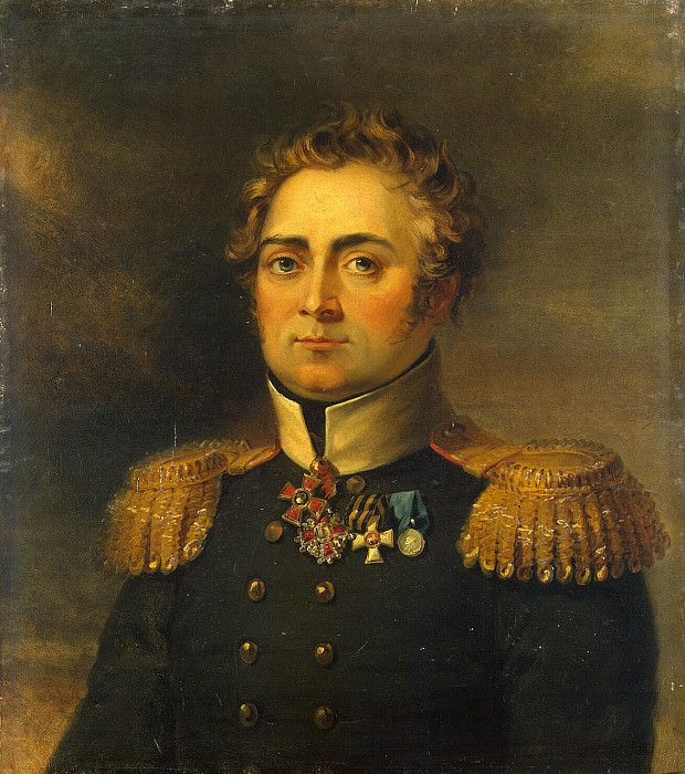Dawe George - Portrait of Anton Antonovich Skalon. Hermitage ~ part 04