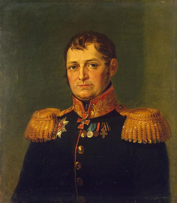 Dawe George - Portrait of Timofey Ivanovich Zbievskogo. Hermitage ~ part 04