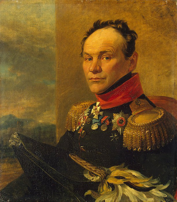 Dawe George - Portrait of Alexander Ivanovich Tsvileneva. Hermitage ~ part 04