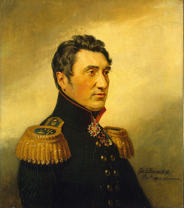 Dawe George - Portrait of Fyodor Vasilyevich Sazonov. Hermitage ~ part 04