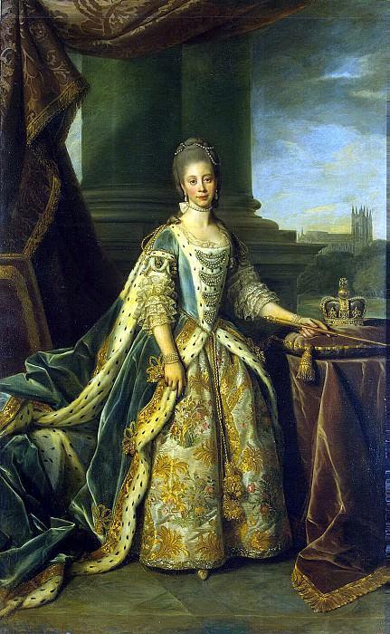 Dance, Nathaniel - Portrait of Sophia-Charlotte. Hermitage ~ part 04