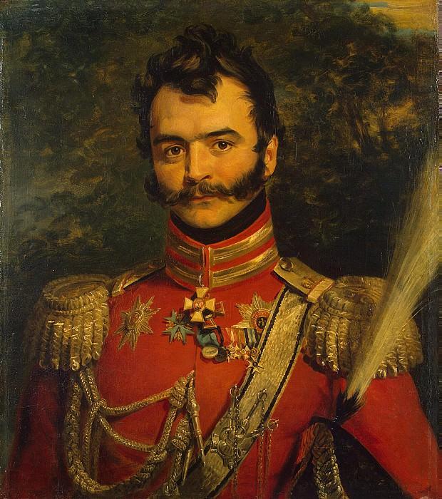 Dawe George - Portrait of Vasily Vasilievich Orlov-Denisov. Hermitage ~ part 04