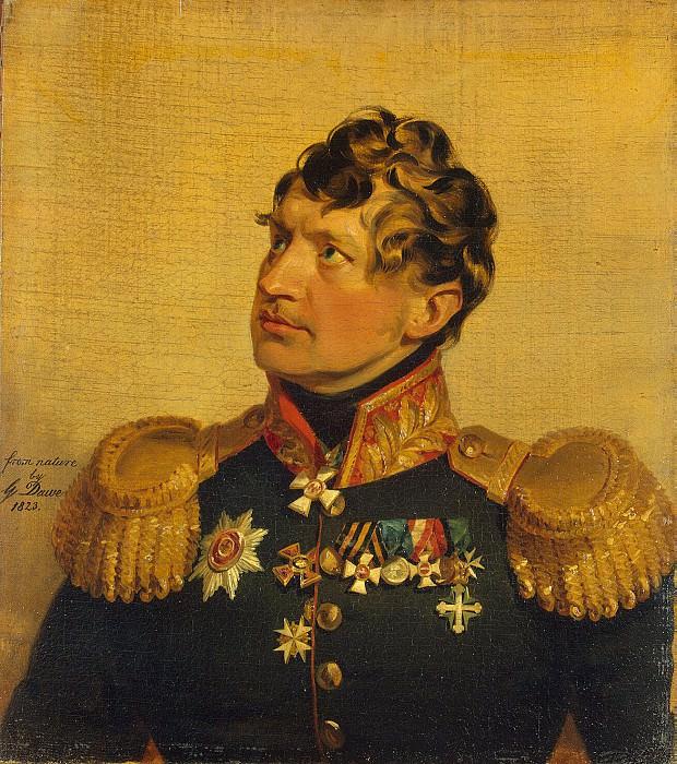 Dawe George - Portrait of Fyodor Fyodorovich Rosen. Hermitage ~ part 04