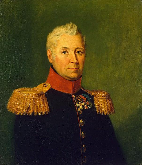 Dawe George - Portrait of Andrey Maslov Timofeyevich. Hermitage ~ part 04