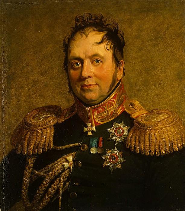 Dawe George - Portrait of Fyodor Karlovich Korf. Hermitage ~ part 04