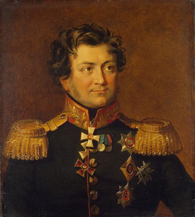 Dawe George - Portrait of Alexander Yakovlevich Rudzevicha. Hermitage ~ part 04