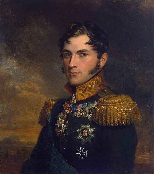 Dawe George - Portrait of Prince Leopold of Saxe-Coburg. Hermitage ~ part 04