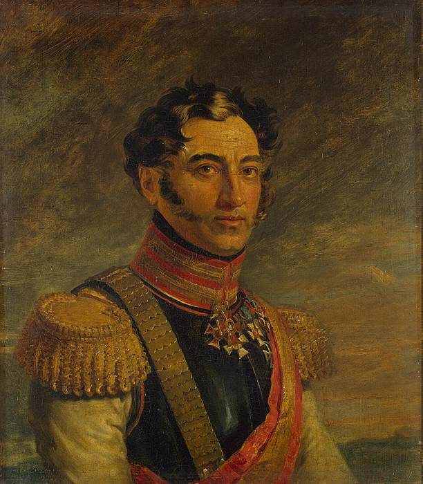 Dawe George - Portrait of Mikhail A. Arseniev. Hermitage ~ part 04