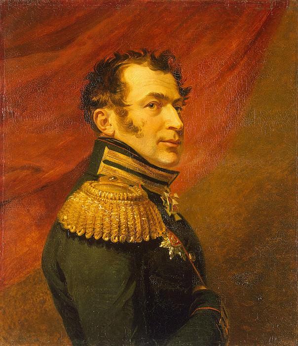 Dawe George - Portrait of Vasily Nikanorovich Shenshin. Hermitage ~ part 04