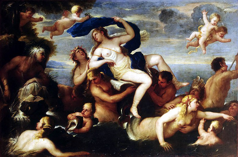 Giordano Luca - Triumph of Galatea. Hermitage ~ part 04