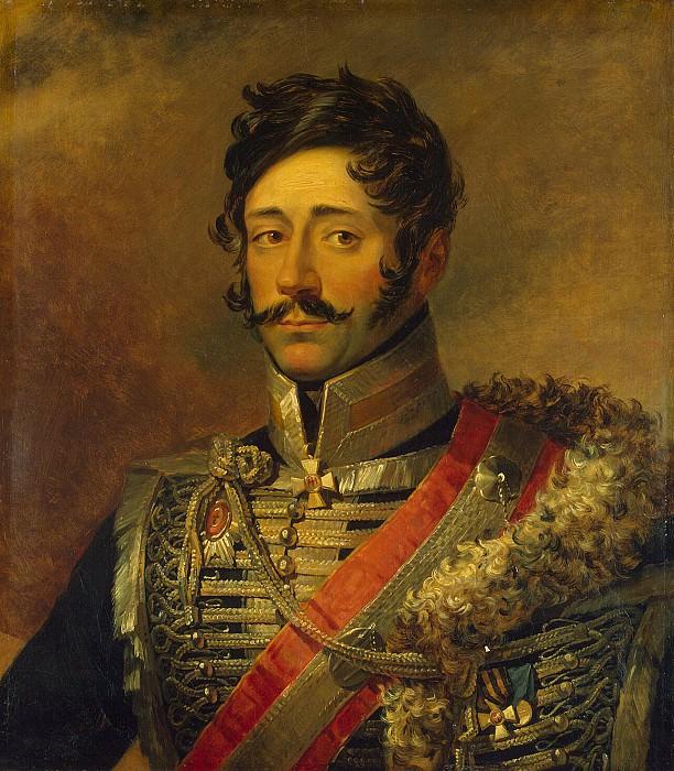 Dawe George - Portrait of Alexei Petrovich Melissino. Hermitage ~ part 04
