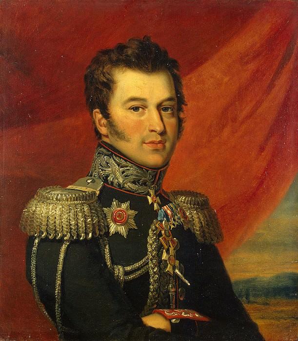 Dawe George - Portrait Paisija Sergeyevich Kaisarova. Hermitage ~ part 04