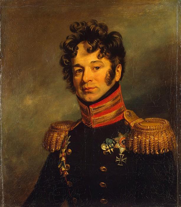 Dawe George - Portrait of Pyotr Alexandrovich Chicherin. Hermitage ~ part 04